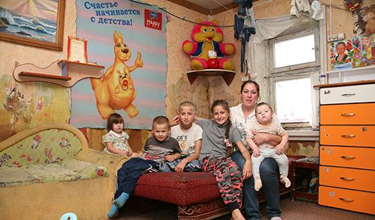 Нужна помощь: ижевская семья с шестью детьми живет в бараке без воды и отопления
