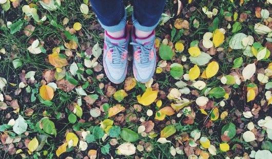 Как ижевчане встречают осень в фотографиях