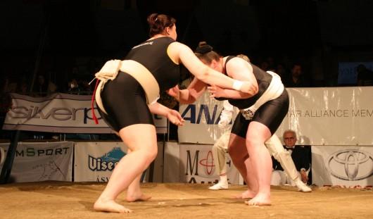 Воткинская сумоистка стала 11-тикратной чемпионкой мира