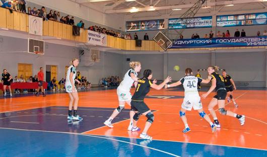 Гандболистки ижевского «Университета» завоевали «серебро» и «бронзу» на предсезонном турнире