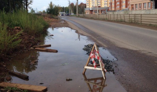 Когда отремонтируют яму на улице Кунгурцева в Ижевске?