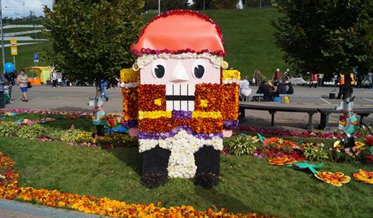 В Ижевске прошел «Праздник цветов»