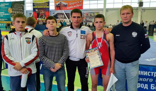 Удмуртский борец греко-римского стиля завоевал медаль на всероссийских соревнованиях
