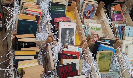 На фестивале «Читай, Ижевск!» более 3 тысяч книг раздали горожанам