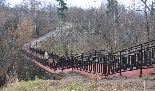 Когда появится освещение на мосту через Карлутку в Ижевске?