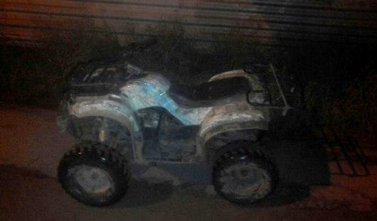 В Ижевске дружинники задержали пьяного водителя квадроцикла