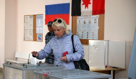 В Удмуртии украли агитационный баннер кандидата на выборы в Гордуму