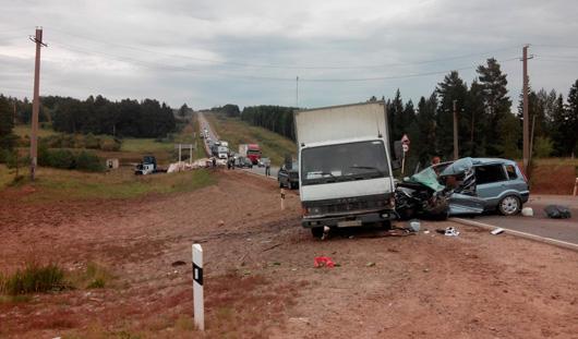 В больнице скончалась водитель «Форда», попавшего в аварию на трассе в Удмуртии