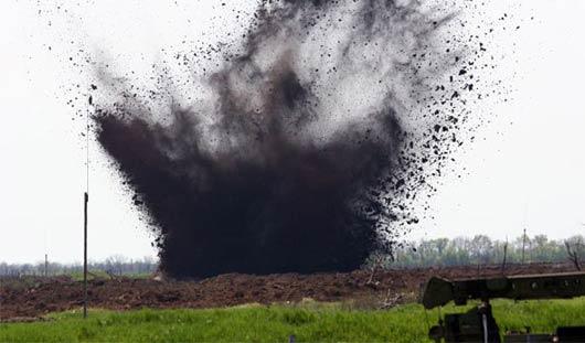 В Удмуртии обнаружили снаряд времён гражданской войны