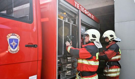 В Ижевске сгорела квартира на Буммашевской