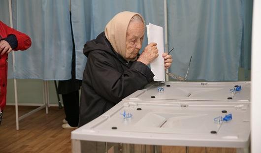 На 11 часов вечера «Единая Россия» набрала 54,64 голосов на выборах в Гордуму Ижевска