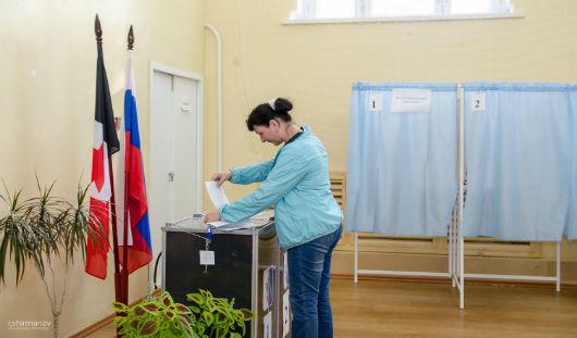 После обработки 97% бюллетеней «Единая Россия» набрала около 53% на выборах в Гордуму Ижевска
