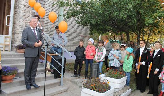 В Ленинском районе Ижевска открылось новое здание Центра детского творчества