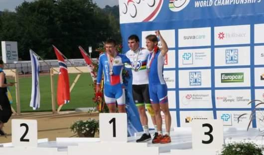 Велогонщик из Удмуртии выиграл очередную медаль этапа Кубка Мира