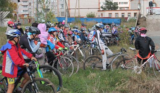 В Ленинском районе после реконструкции открылся велодром