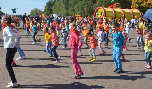 «Рыжий фестиваль 2015» в Ижевске начался с «Оранжевого настроения»