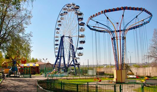 В мае в Ижевске откроют новое колесо обозрения