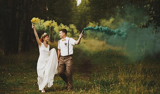 Ижевские молодожены: Сыграли две свадьбы
