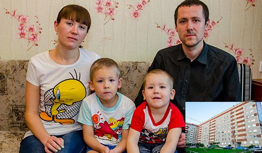Без жилья и маткапитала: в Ижевске семью с двумя детьми выселяют из собственной квартиры