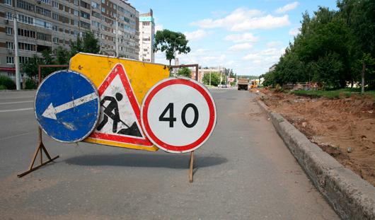 Дорожники отремонтировали около 5 тыс. кв. м городских улиц в Ижевске