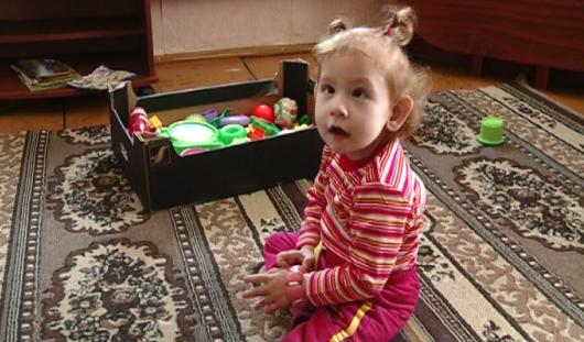 4-летняя Рита из Ижевска никогда не сможет ходить