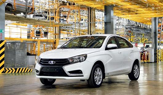 6 тысяч ижевской Lada Vesta планируется продать к концу года