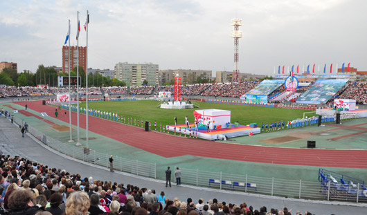 До конца матча «Зенит-Ижевск»-«Краснодар» проезд у центрального стадиона будет затруднен