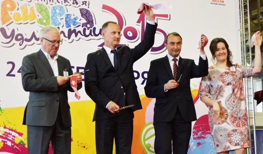 Всероссийская ярмарка в Удмуртии торжественно открылась в Ижевске