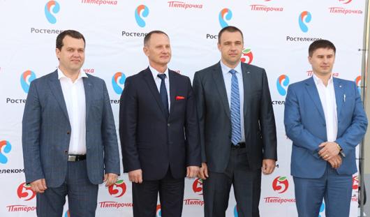 Магазины «Пятерочка» открылись на объектах «Ростелекома» в Удмуртии