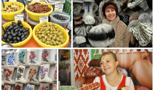 Всероссийская ярмарка в Удмуртии: в павильоне на Центральной площади продукты и товары для гардероба, дома и дачи