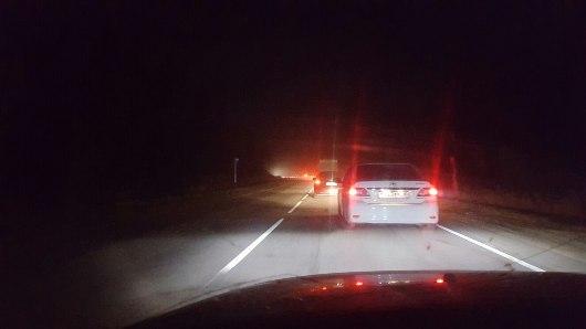На Можгинском и Сарапульском трактах у въезда в город образовались большие пробки