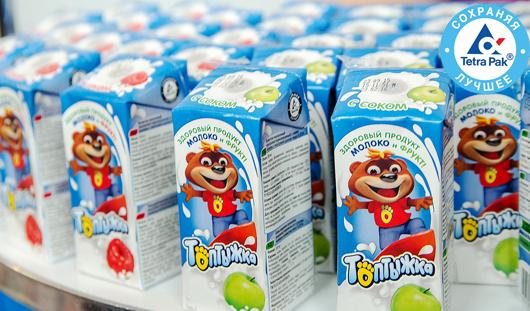 В Ижевске прошел «День школьного молока»!