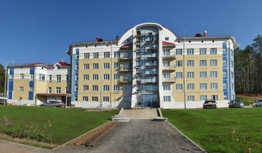 В Ижевске к концу года сдадут общежитие лыжного комплекса им. Галины Кулаковой