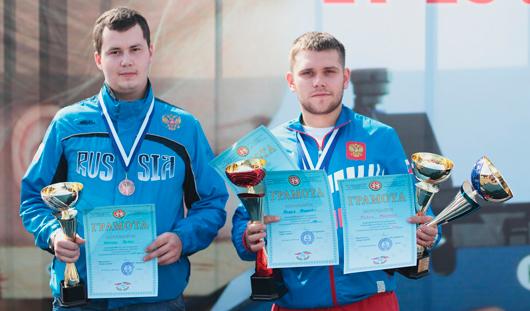 Стрелок из Удмуртии выиграл медаль на Чемпионате России в Краснодаре