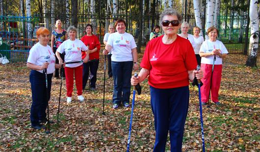 Ижевчанка Зоя Никитенко в 80 лет сама ведет группу здоровья