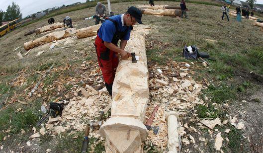 Житель Удмуртии занял первое место на фестивале ландшафтной скульптуры в Мордовии