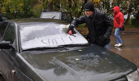 На этой неделе в Ижевске выпадет первый снег