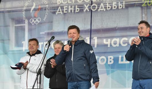 Ростелеком обеспечил проведение телемоста для участников Всероссийского Дня ходьбы