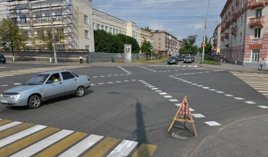 В Ижевске больше не будут делать диагональных пешеходных переходов