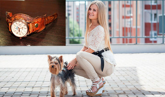 Из хобби в бизнес: ижевчанка подарила Владимиру Познеру часы с ремешком, который сделала сама