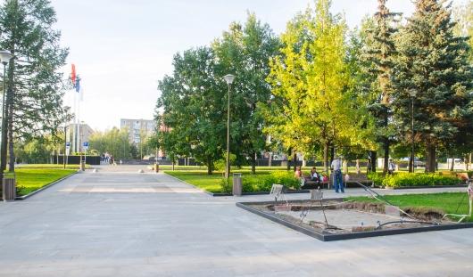 Скверу около Администрации Ижевска присвоили имя графа Шувалова