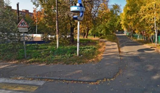 Переулок Широкий стал «главной» на перекрестке с улицей Красной