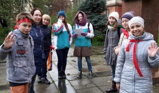 В Ижевске прошел семейный пешеходный марафон «Мой город»