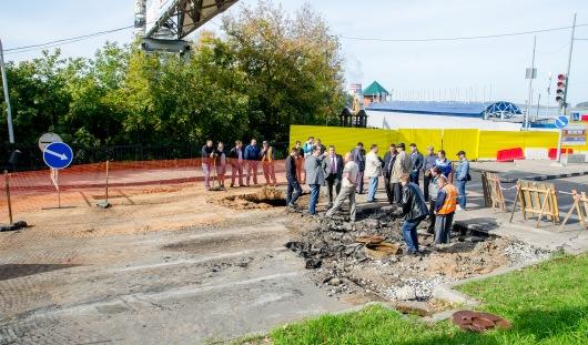 В мае 2016 года планируется открыть движение по мосту на пр. Дерябина в Ижевске