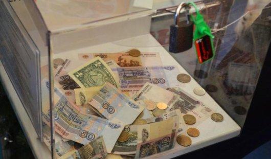 В Ижевске несовершеннолетний преступник украл ящик с пожертвованиями