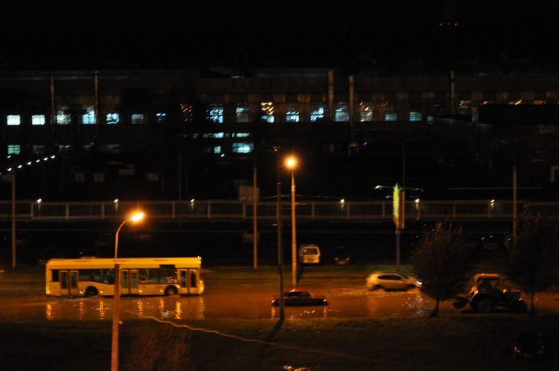 Район Автозавода в Ижевске затопило сегодня ночью