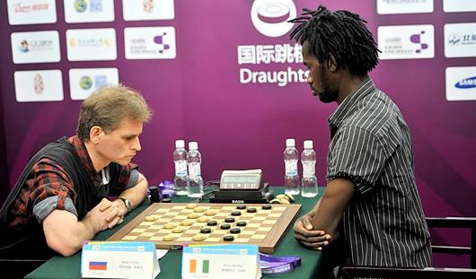 Алексей Чижов выиграл «бронзу» на Кубке Мира по международным шашкам