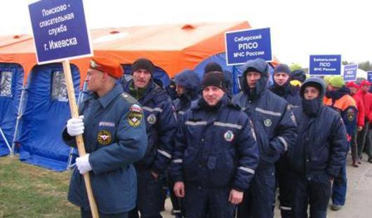 Ижевские спасатели показали свое мастерство на международном чемпионате по многоборью