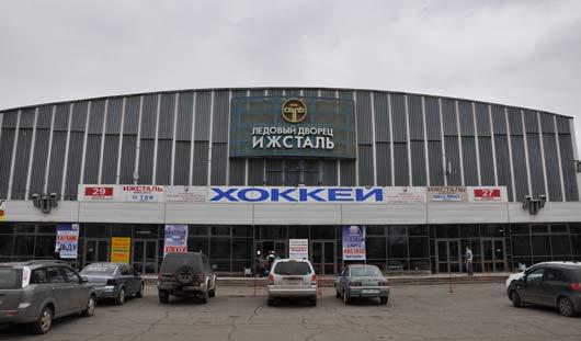 У Ледового дворца в Ижевске проводят антитеррористические учения