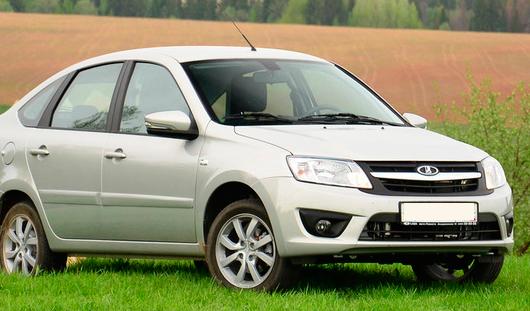 Lada Granta лифтбек ижевской сборки вошла в рейтинг самых дешёвых авто России
